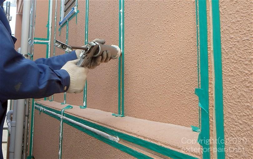雨漏り修理シール工事