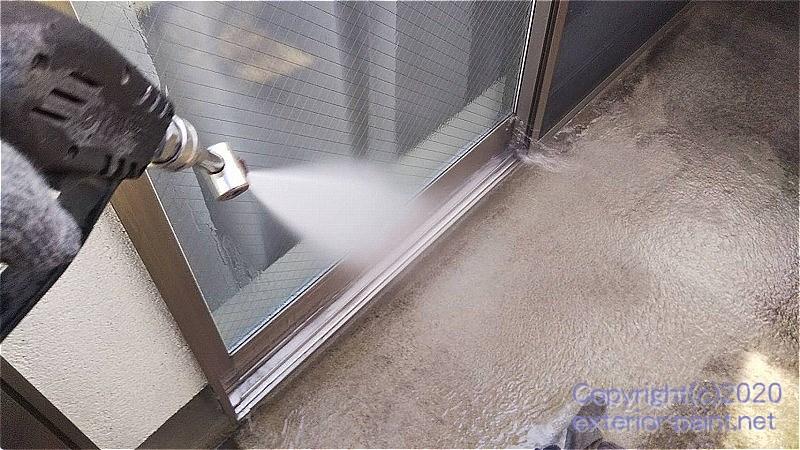 FRP防水高圧洗浄