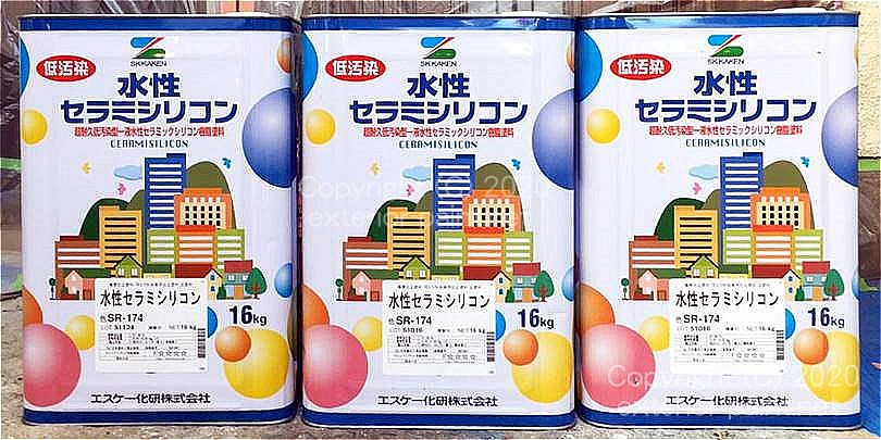 水性セラミシリコン一斗缶