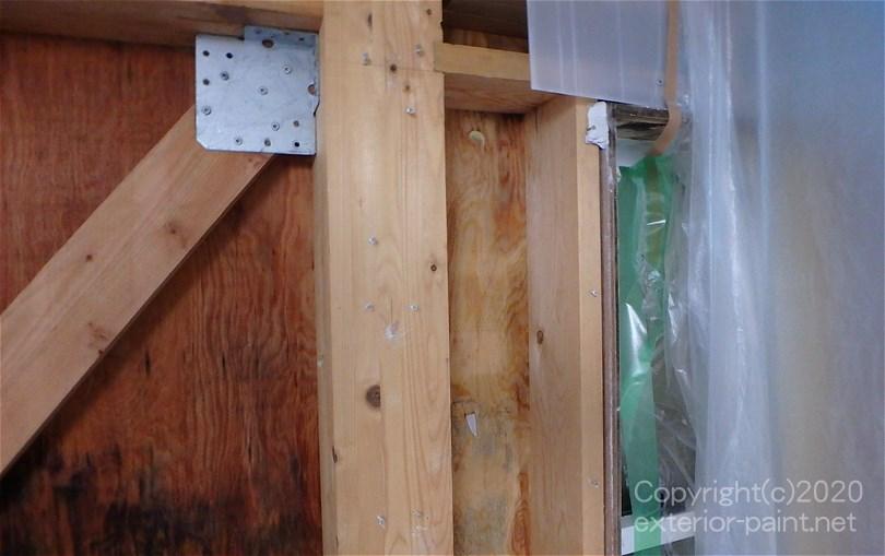 雨漏り後の室内壁の補修