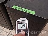 2011年金属屋根遮熱塗料実証実験(一斗缶)7月1日13時