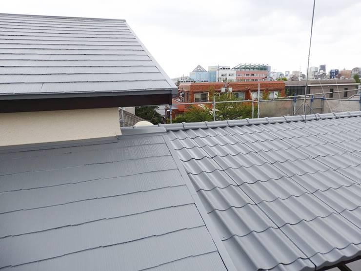 グレーの屋根