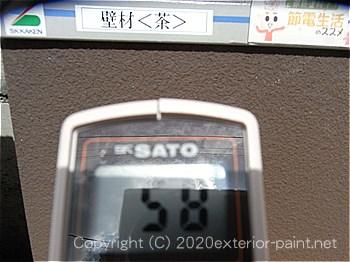 2012年7月10日13時-遮熱塗料実験