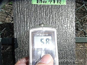 2012年8月1日15時-遮熱塗料実験(コロニアル屋根材)
