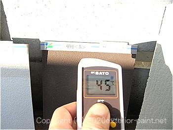 2012年7月10日17時-遮熱塗料実験