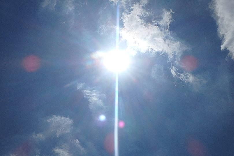 遮熱塗料温度測定 2012年7月10日