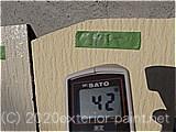 2011年7月9日 遮熱塗料実験 ガイナ・クリーンマイルドシリコン