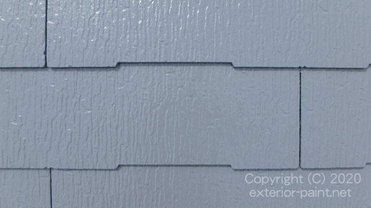 エスケー化研クールタイトSiCLR-106グレーで塗った屋根
