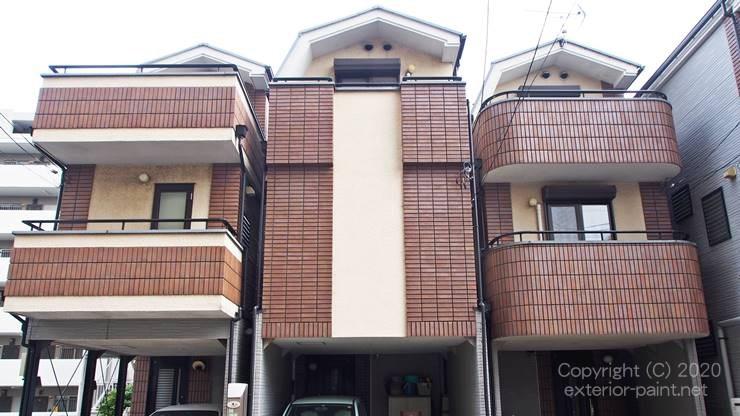 3階建ての家は遮熱塗料の効果が出やすい