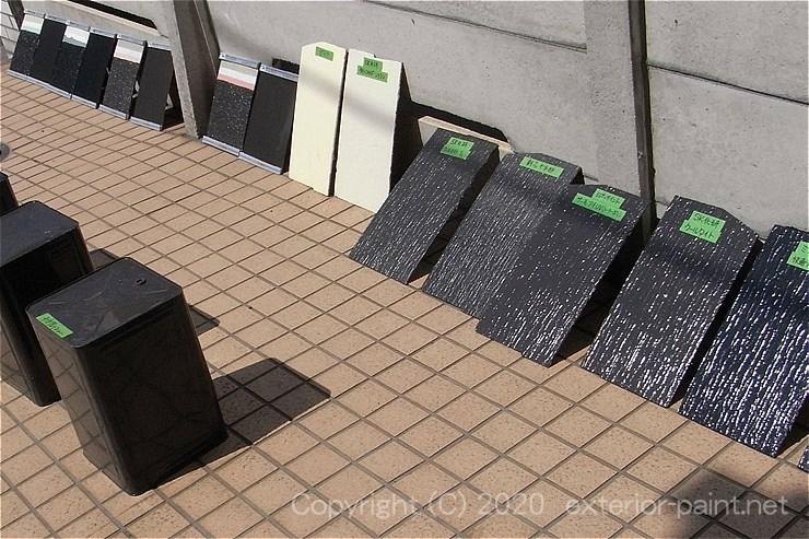 2011年遮熱塗料実験準備