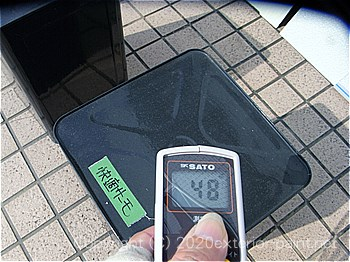 2012年8月1日15時-遮熱塗料実験(一斗缶)