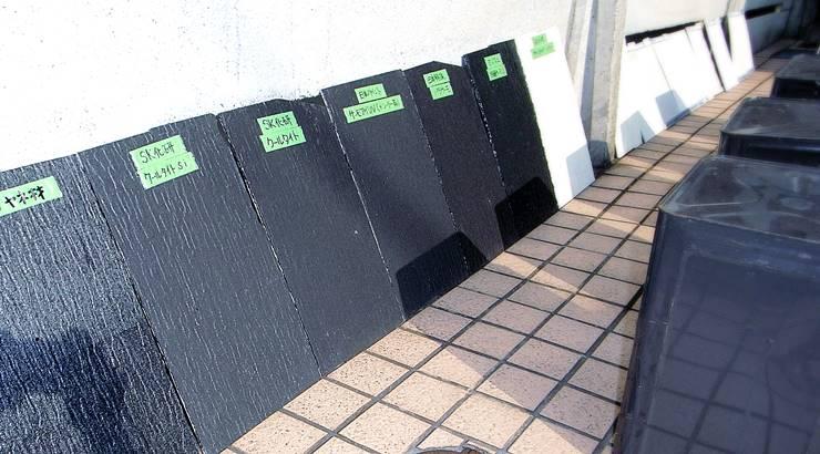 遮熱塗料【実証実験】2012年8月7日
