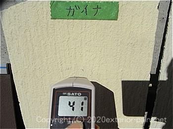 20120年7月10日15時-遮熱塗料実験-ガイナ・クリーンマイルドシリコン