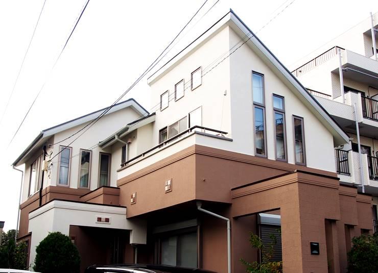 2色使いの家の例