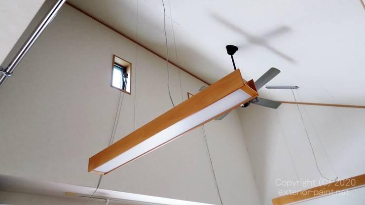 2階リビング吹き抜け天井
