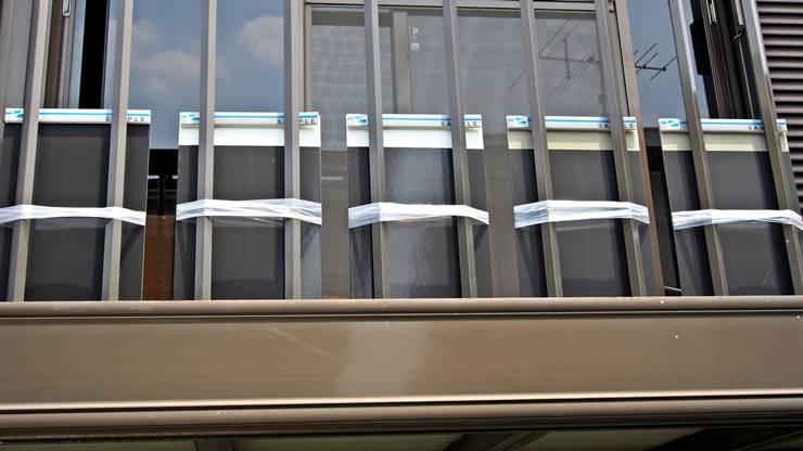 サーモクロン塗板設置(裏A)