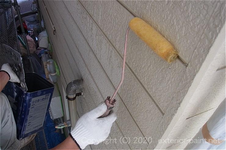 接着力の強いシーラーを塗装