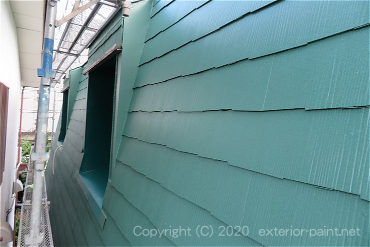 急勾配屋根の実例