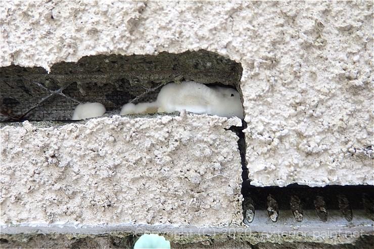 外壁のヒビ割れ-